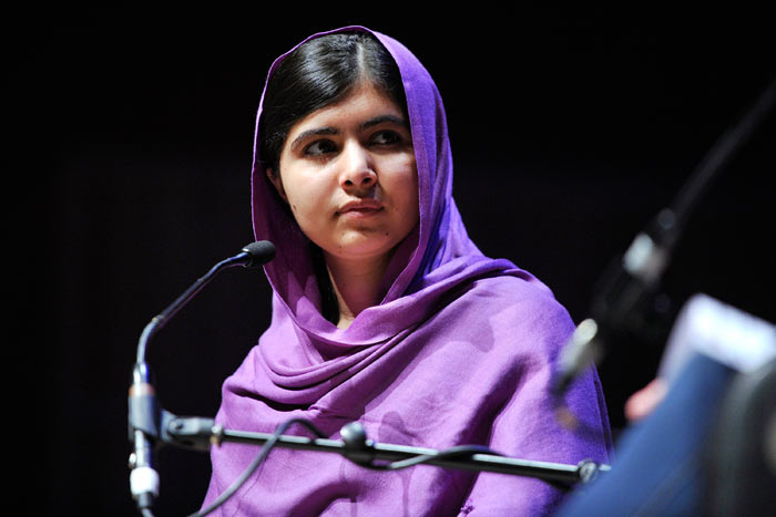 2014 Nobel Peace Prize winner: Malala Yousafzay. Credit: Southbank Centre @ FlickR (licensed under Creative Commons).