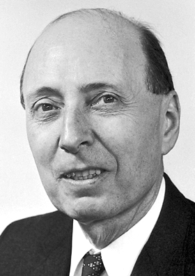 Eugene Wigner, Nov. 17, 1902 – Jan. 1, 1995, received the Nobel Prize in Physics in 1963, together with Maria Goeppert-Mayer and Hans Jensen. Photo: Nobel foundation