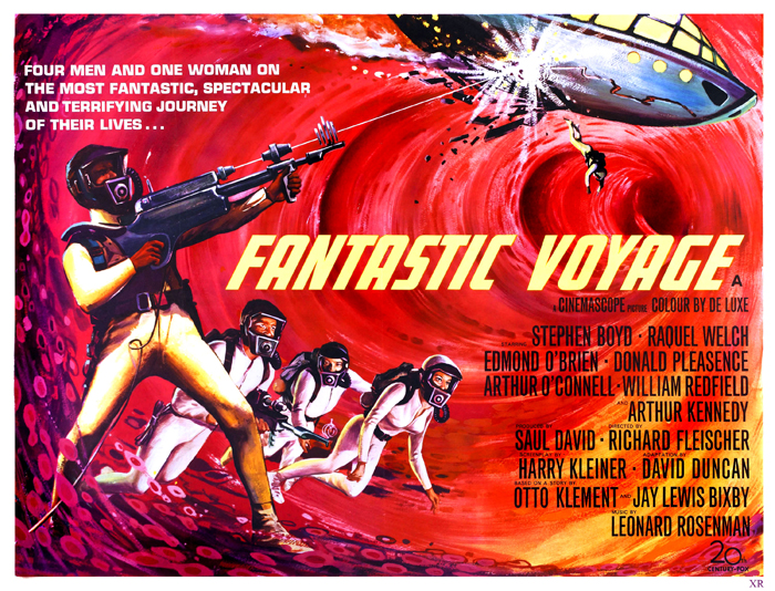 The 1966 SciFi movie 'Fantastic Voyage' shows  how a medical team gets shrunken down to enter the body of another person to perform critical surgery from within. Image: James Vaughan @ Flickr