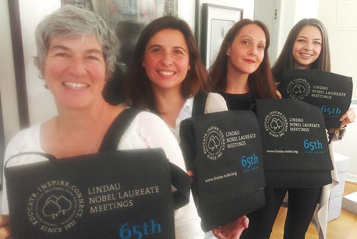 The 65th Lindau Nobel Laureate Meeting bag