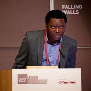 Serge Alain Fobofou Tanemossu, Foto: Falling Walls Konferenz Berlin