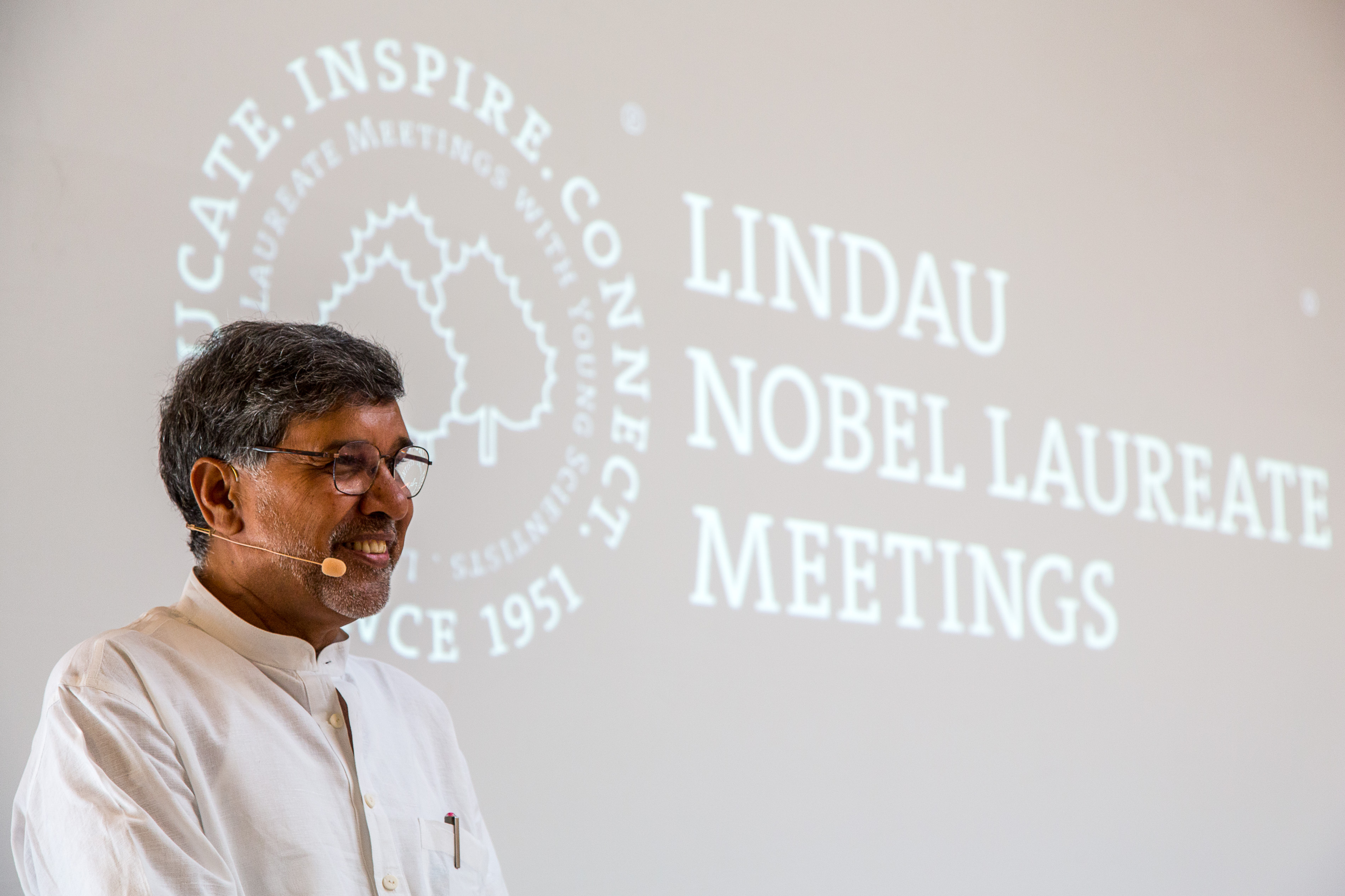 Image: Christian Flemming/Lindau Nobel Laureate Meetings