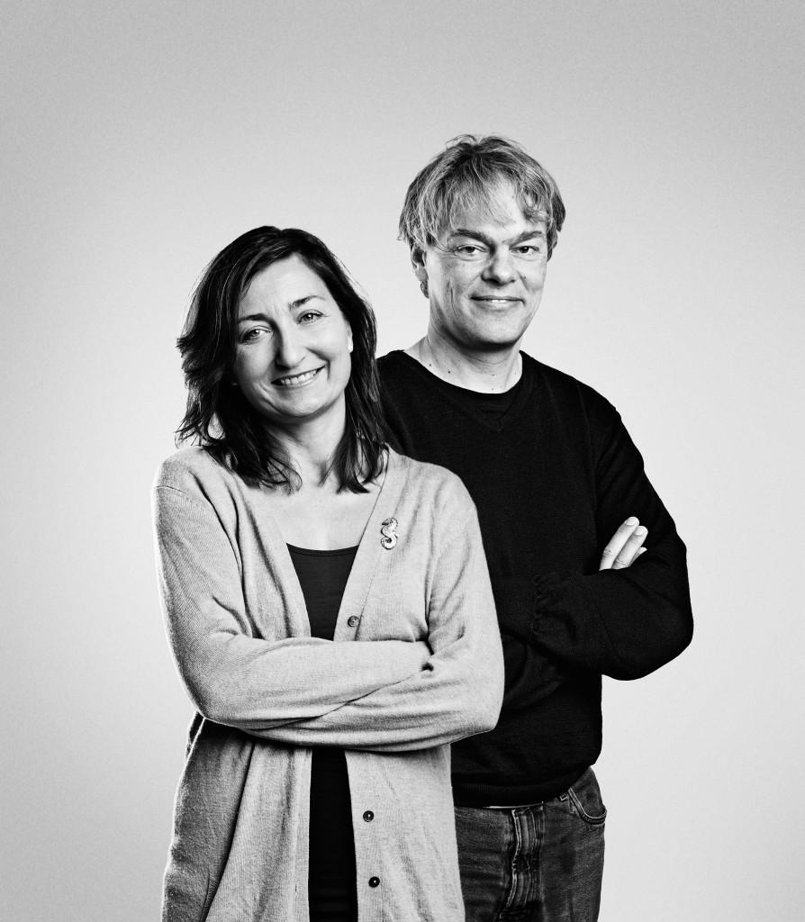 Nobelpreisträger May-Britt und Edvard Moser