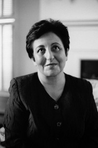 Shirin Ebadi, Foto: Peter Badge