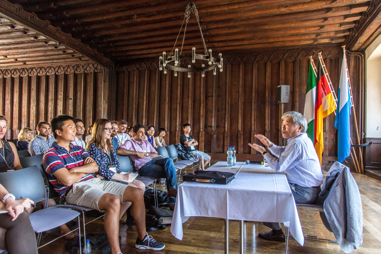 Tonegawas Lecture bei der 65. Lindauer Nobelpreisträgertagung trug den Titel