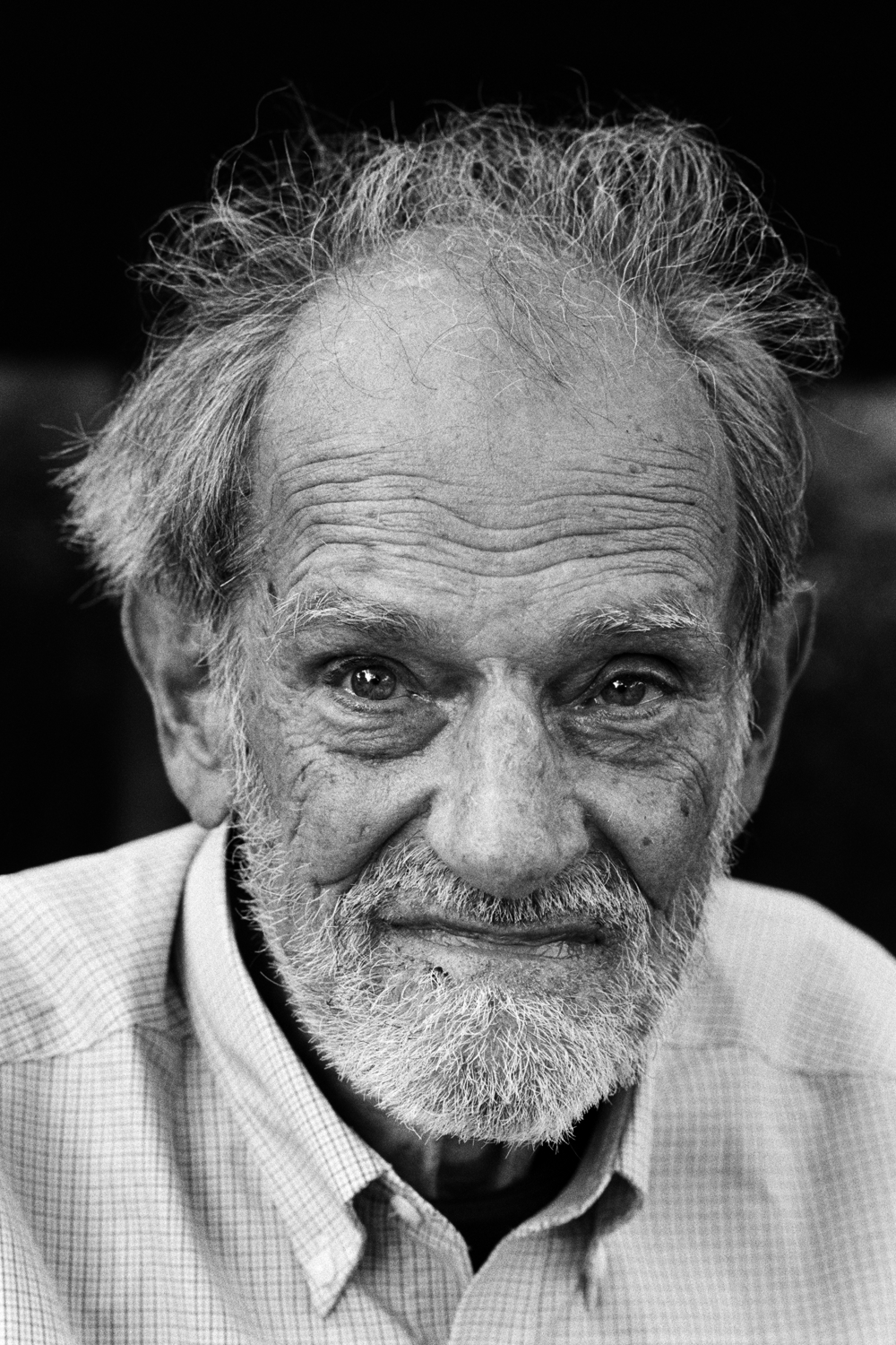 Lloyd Shapley, Photo: Peter Badge from his 'Nobel Portraits' series.