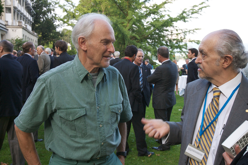 Photo: Ch. Flemming/Lindau Nobel Laureate Meetings