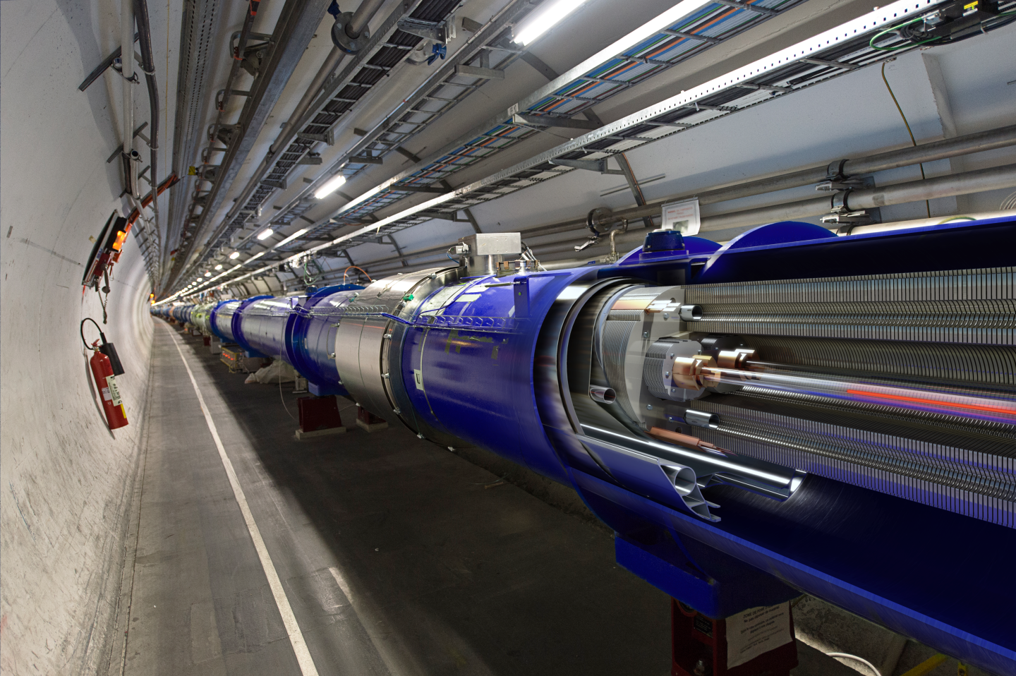 The search Supersymmetry is still going on at CERN. Photo: D. Dominguez/CERN