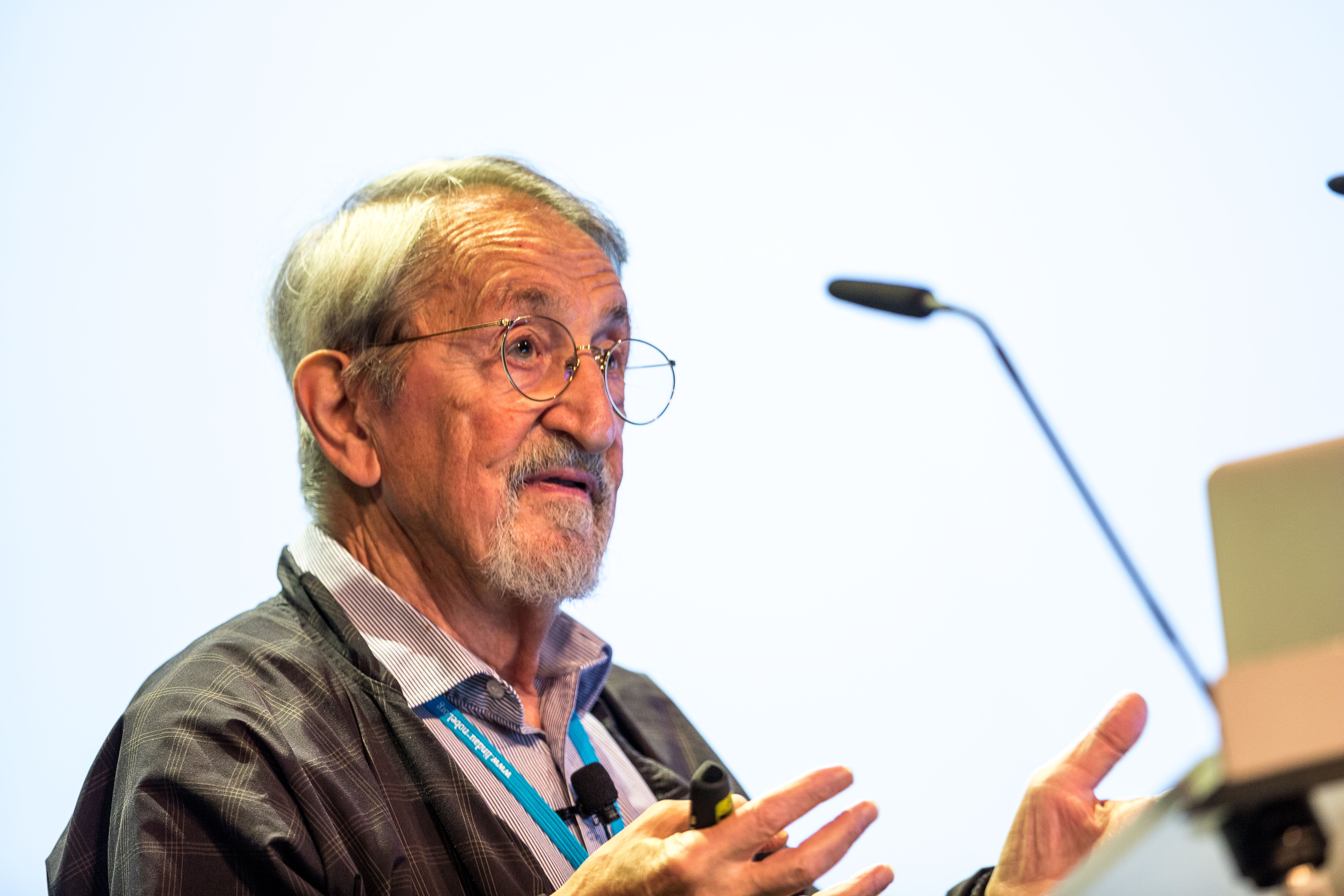 Martin Karplus, Picture/Credit: Christian Flemming/Lindau Nobel Laureate Meetings