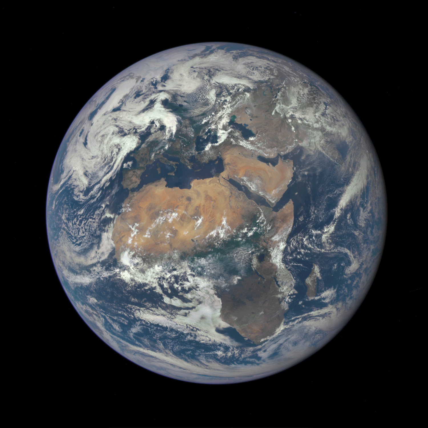 Partaking in international space programmes could certainly change the perspective of how the West sees Africa. Image: NASA