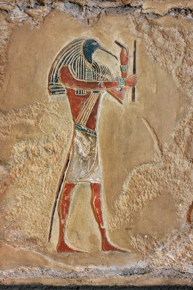 Thoth, the ibis-headed god of science & wisdom in the ancient Egyptian pantheon. Photo: iStock.com/Kevin Rygh Creative Arts & Design