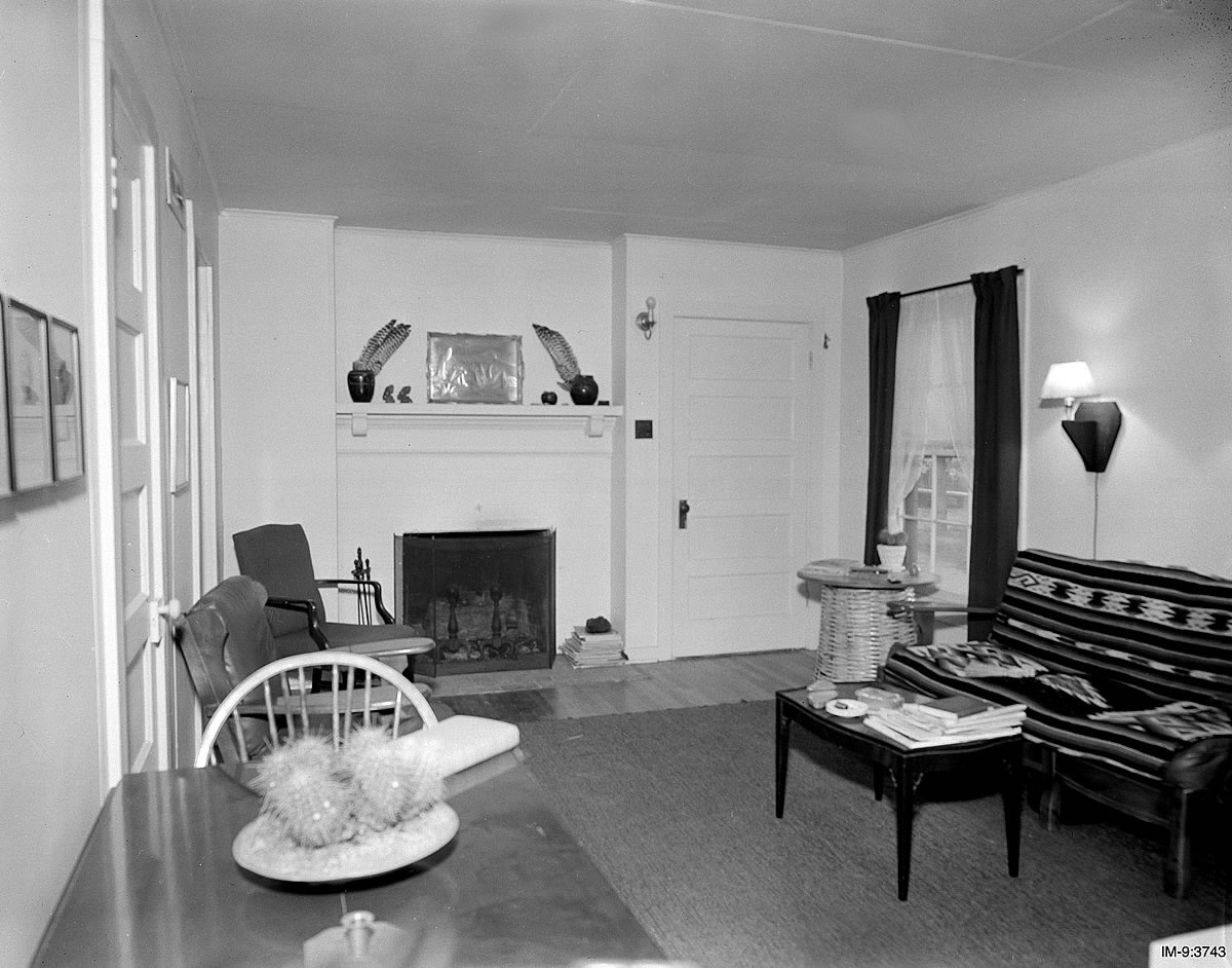 A family's living room, Photo: Los Alamos National Laboratory (CC BY-NC-ND 2.0)