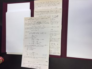 A selection of some of the hosted Einstein documents. Photo: Helen Hatzis