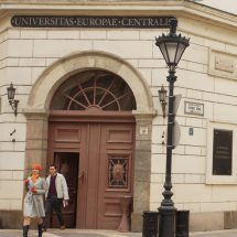 The threatened closure of the Central European University in Budapest, Hungary has become a cause célèbre for academic freedom in Europe and beyond. Photo: By Gphgrd01 (The stock of CEU) [CC BY-SA 3.0], via Wikimedia Commons