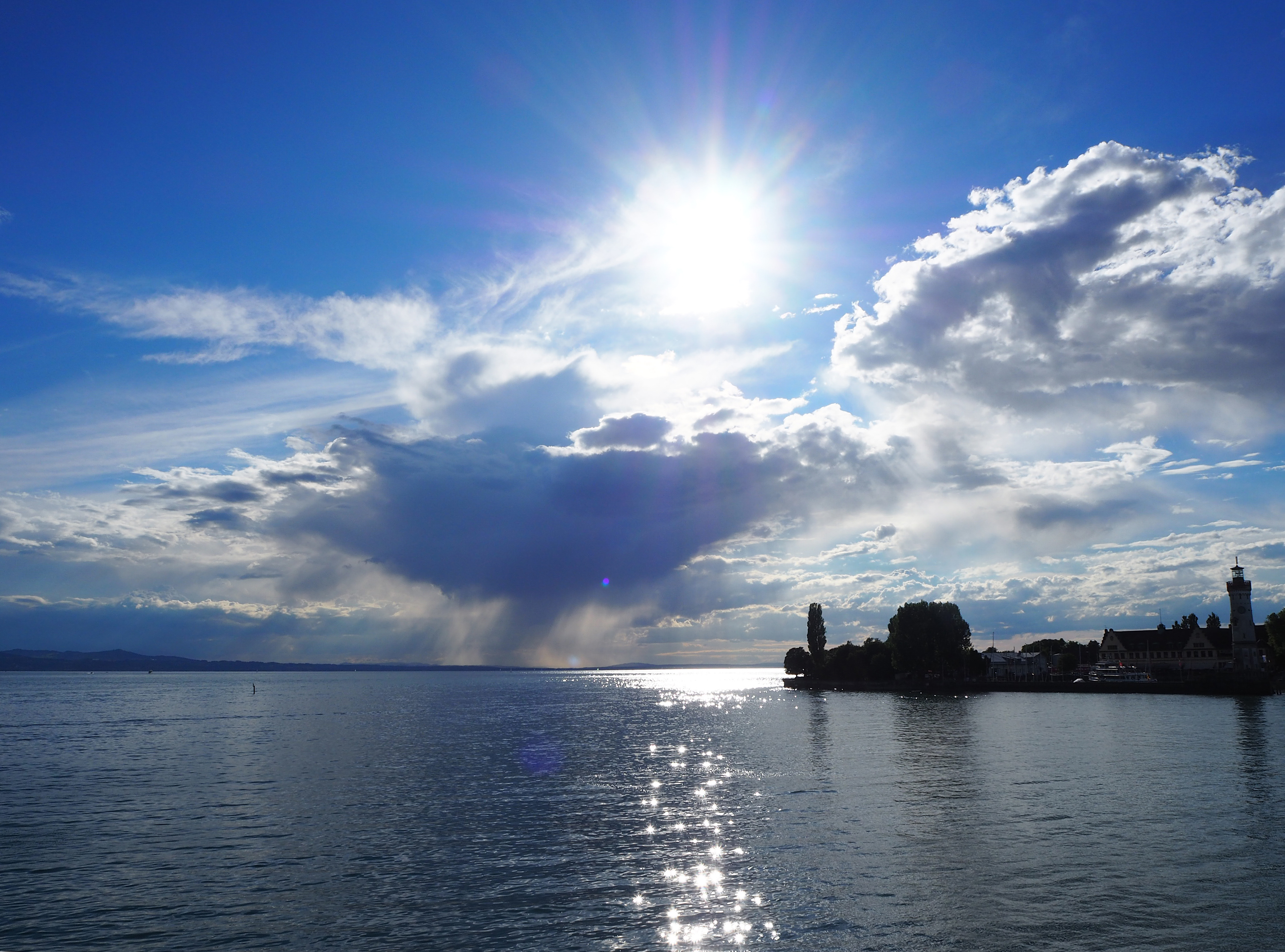 View on Lindau Island. Credit: Lisa Vincenz-Donnelly/Lindau Nobel Laureate Meetings