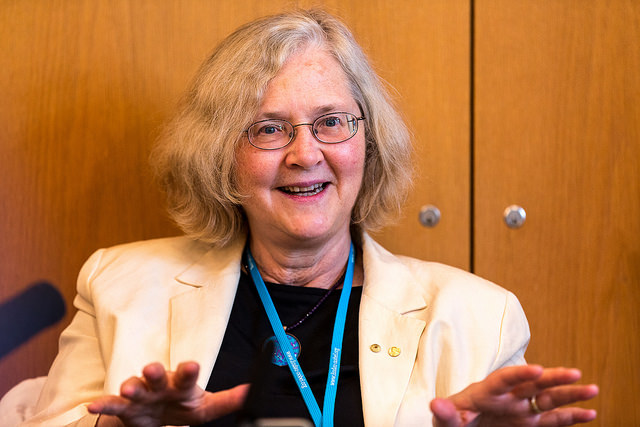 Nobel Laureate Elizabeth Blackburn