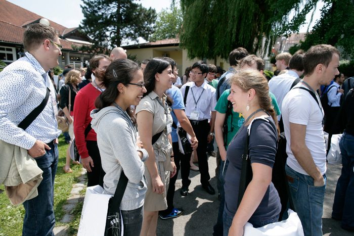 With hundreds of likeminded People from all around the world Meeting at Lindau maybe your next academic partner is among them? Photo: R. Schultes/Lindau Nobel Laureate Meetings