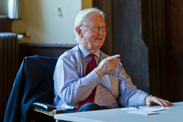 Among others, James Mirrlees will be at #LindauEcon14. Photo: C. Flemming/Lindau Nobel Laureate Meetings