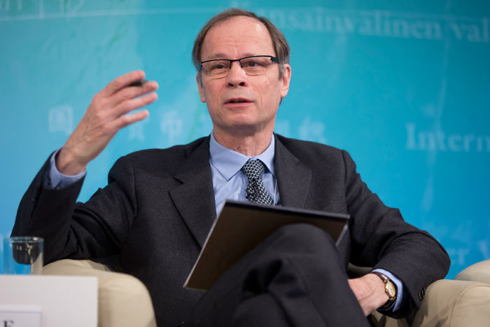 The winner of the 2014 'Nobel Prize in Economic Sciences': Jean Tirole. Photo: IMF @ FlickR (licensed under Creative Commons).