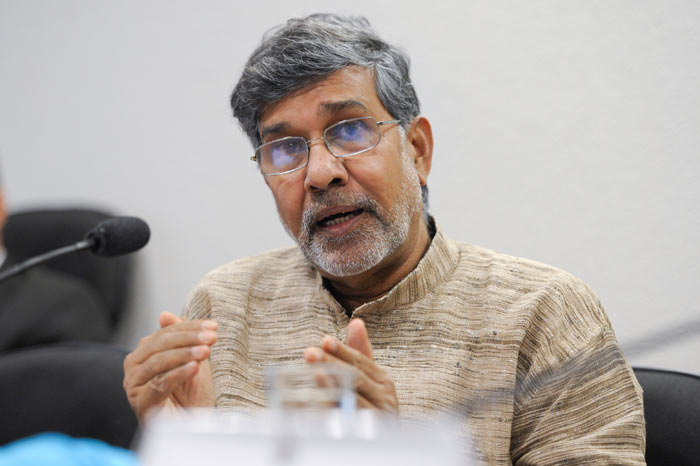 2014 Nobel Peace Prize winner: Kailash Satyarthi. Credit:  Senado Federal @ FlickR (licensed under Creative Commons).