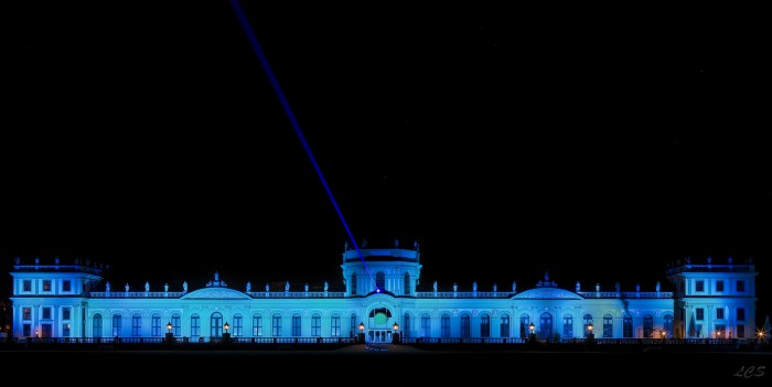 All over the world, buildings and monuments will be lit with blue lights to draw attention to the diabetes epidemic. Here the