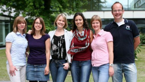 Dr. Angelika Riemer's research group at the DKFZ - or just the