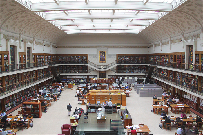 Reading room of the State Library of New South Wales in Sydney, Australia. Image: Rupert Ganzer (CC BY-ND 2.0)