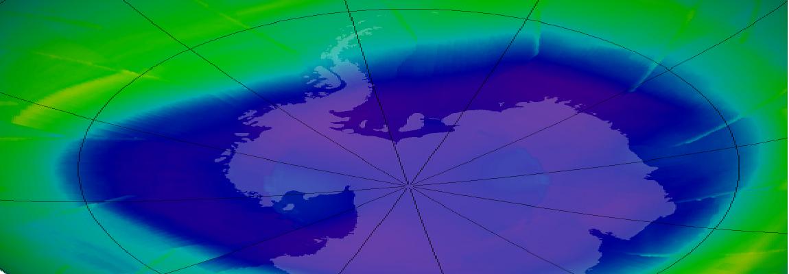 Das Ozonloch könnte sich schließen