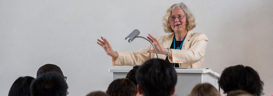 Professor Elizabeth Blackburn on Unconscious Biases