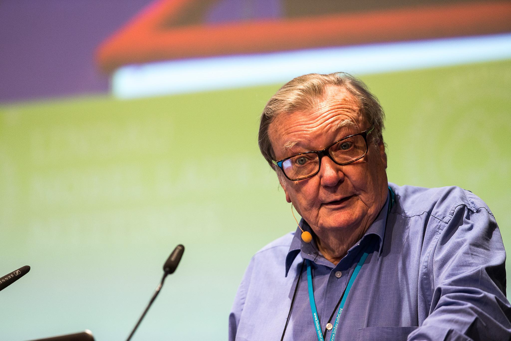 Picture/Credit: Christian Flemming/Lindau Nobel Laureate Meetings