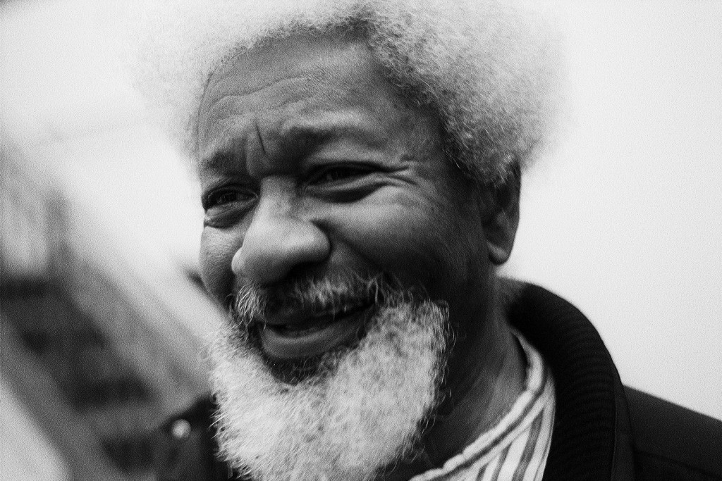 Wole Soyinka, Nobel Prize in literature 1986. Photo: Archive Badge