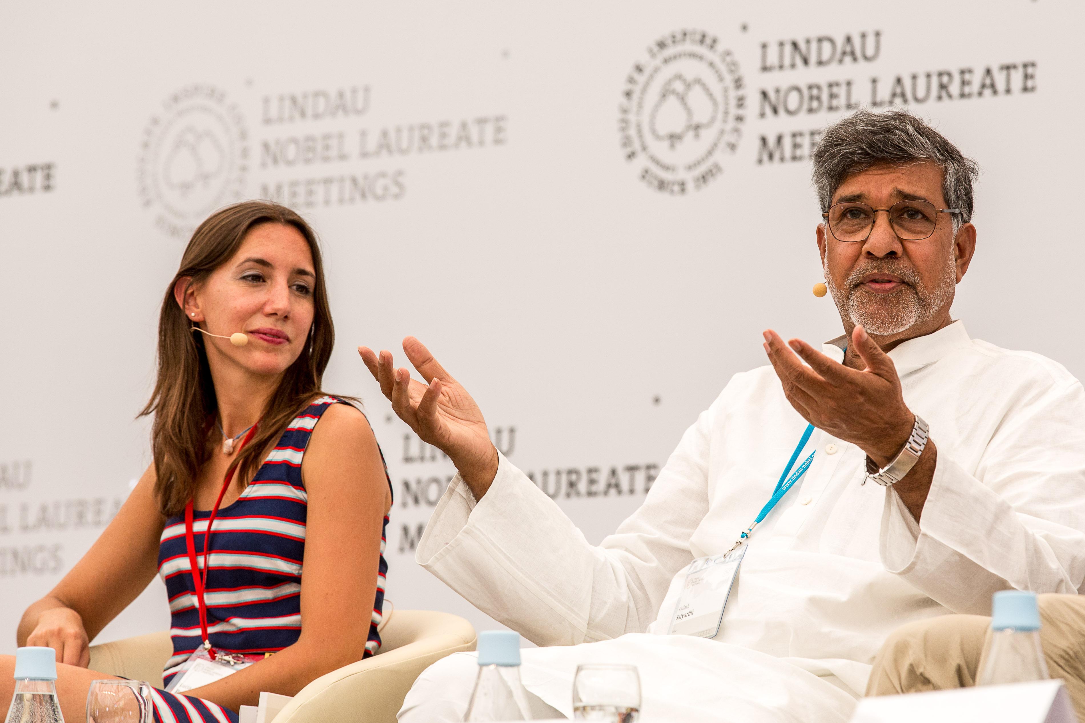 Image: Ch. Flemming/Lindau Nobel Laureate meetings