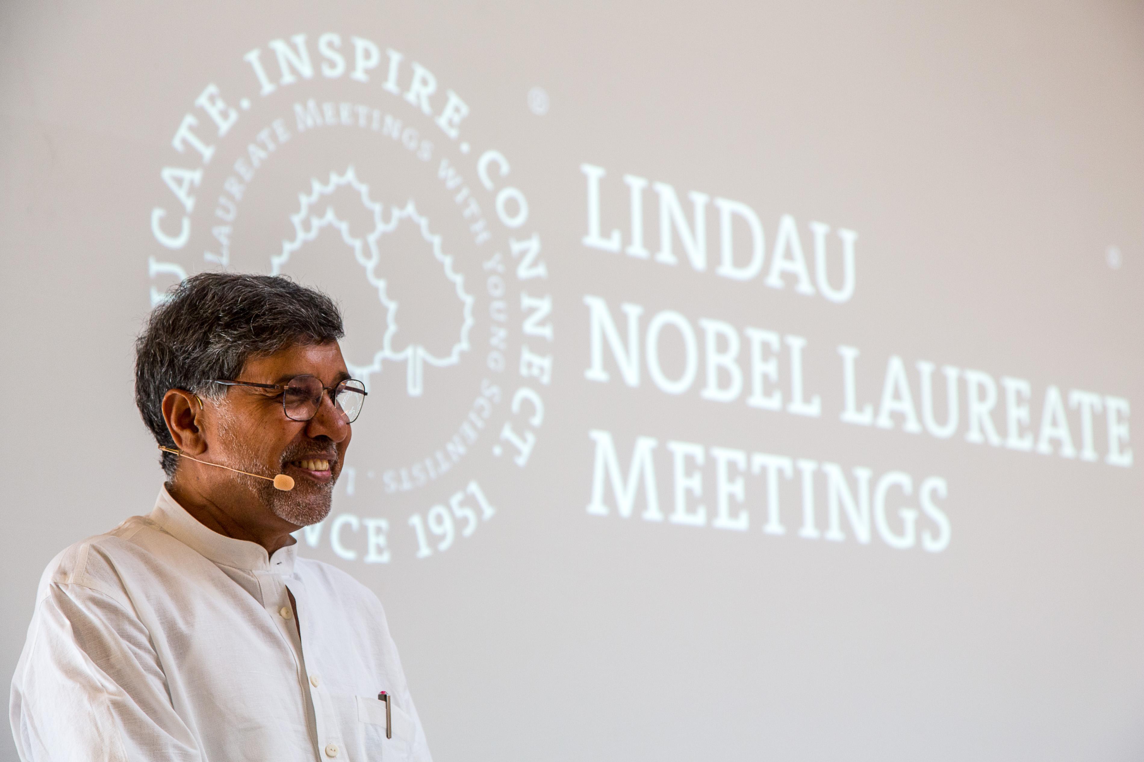Image: Christian Flemming/Lindau Nobel Laureate Meetings