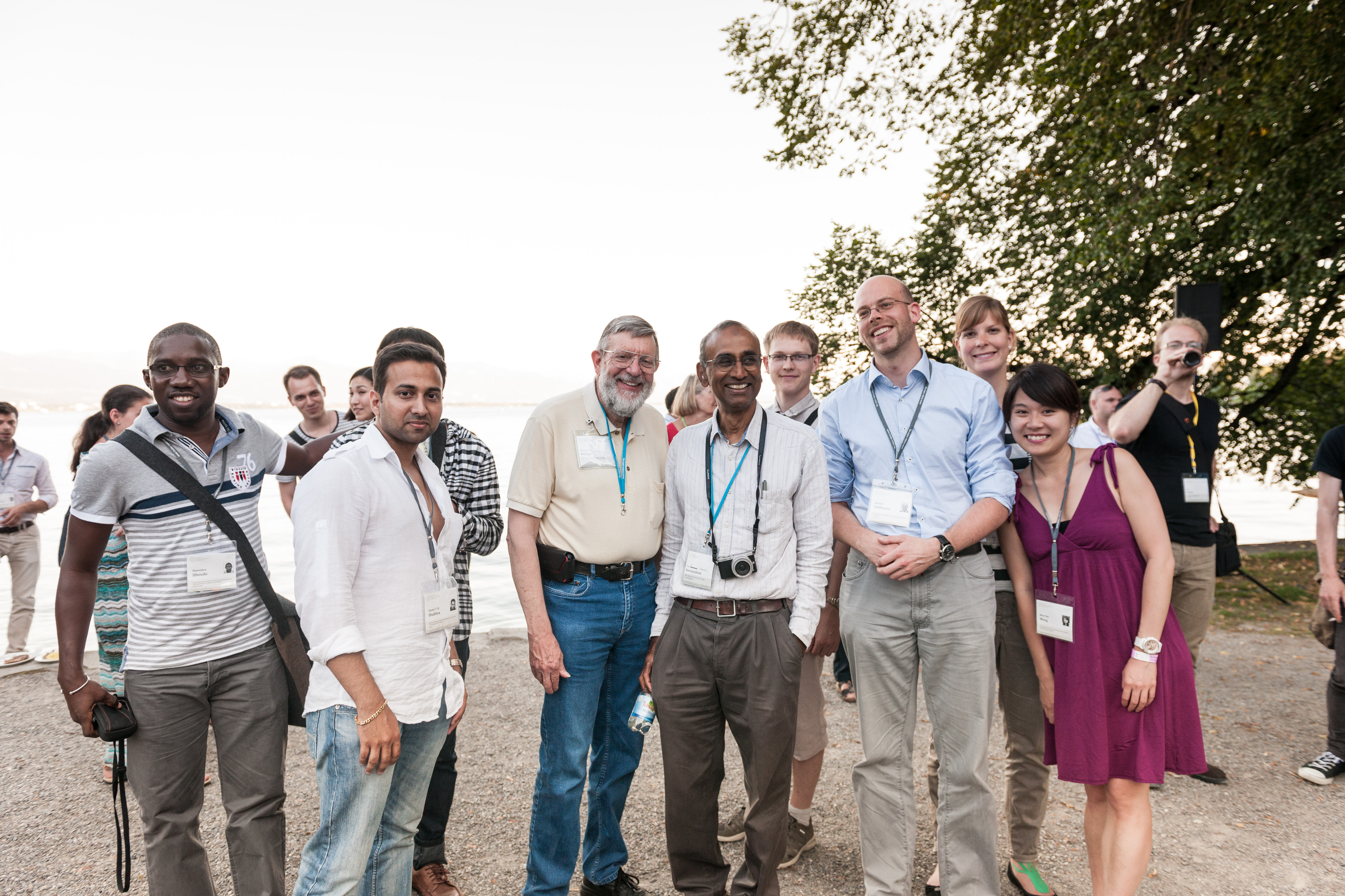 65th Lindau Nobel Laureate Meeting, Lindau, Germany, Picture/Credit: Adrian Schröder/Lindau Nobel Laureate Meetings, 30 June 2015 Grill & Chill Evening at Toskana Park No Model Release. No Property Release. Free use only in connection with media covera