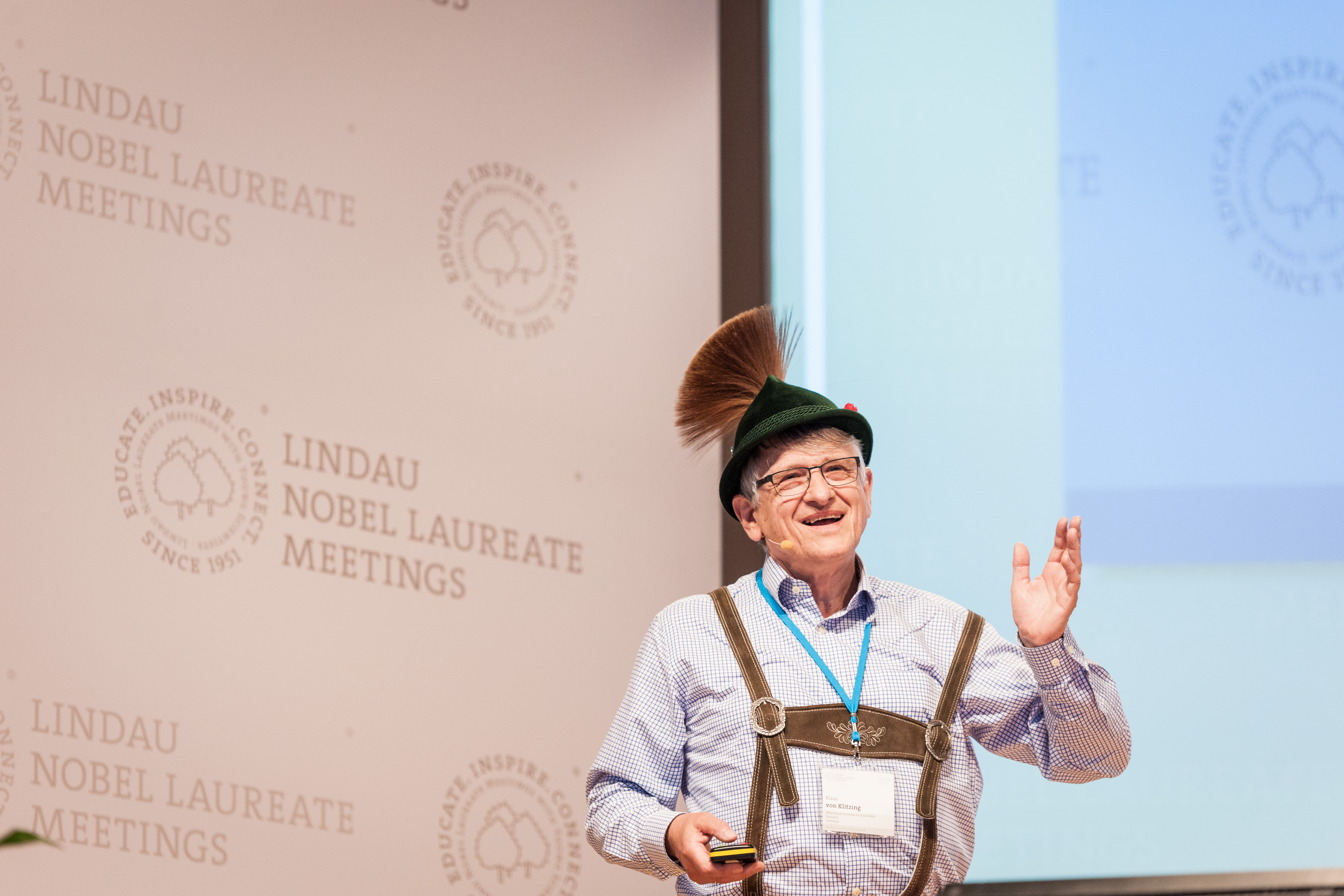 65th Lindau Nobel Laureate Meeting, Lindau, Germany, Picture/Credit: Adrian Schröder/Lindau Nobel Laureate Meetings, 2 July 2015 Bavarian Evening Hosted by Elite Network of Bavaria & Free State of Bavari No Model Release. No Property Release. Free use o
