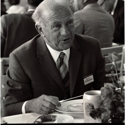 Werner Heisenberg participating in the 1969 Lindau Nobel Laureate Meeting. Photo: LNLM/Werner Stuhler