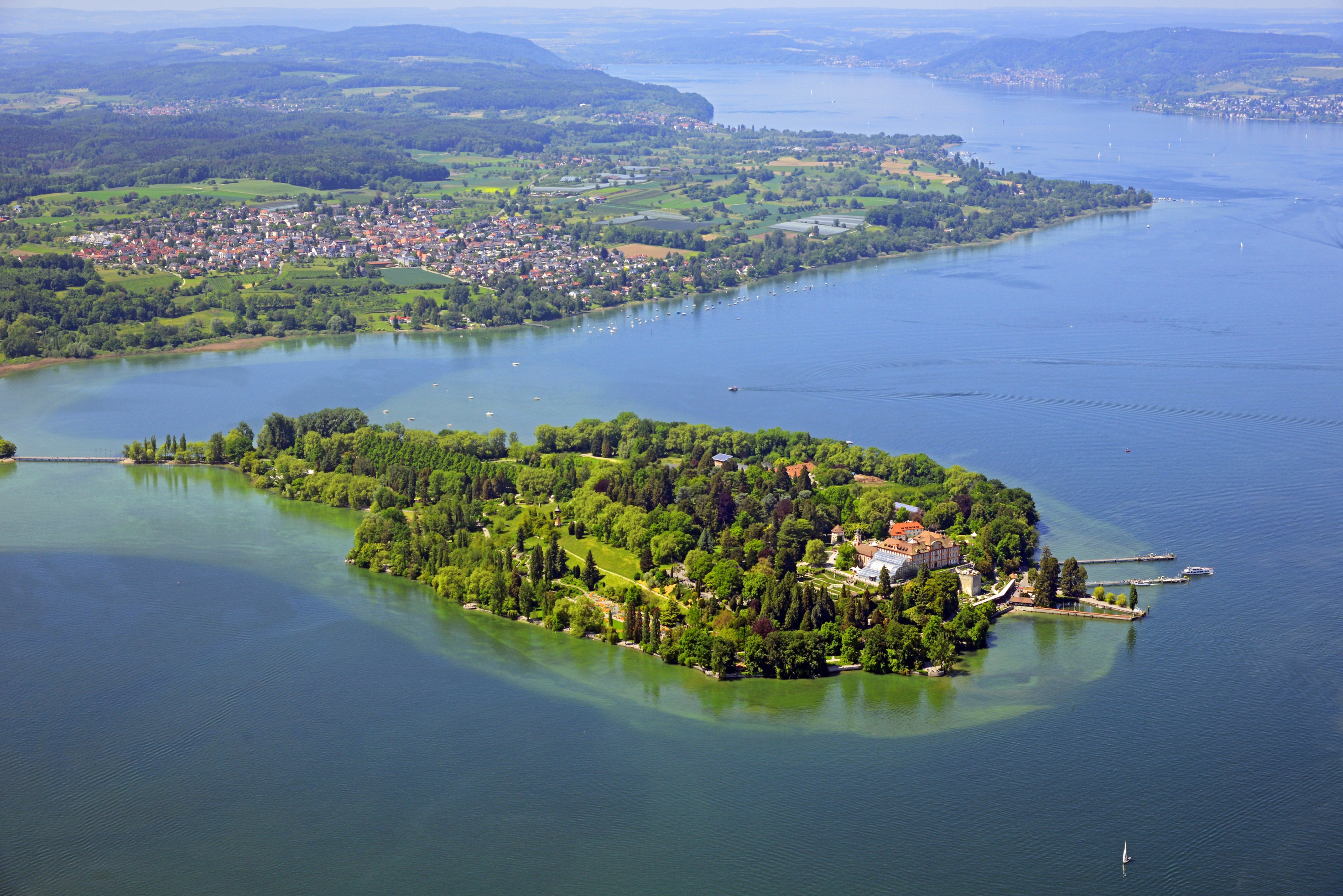 If there was a heaven on Earth for scientists, then it would be found in Bavaria in the beautiful town of Lindau. And if motivation on how to effect social change could be bottled up in one location, then it would be on Mainau, the beautiful flower island of the Bernadotte family. Picture: Insel Mainau/Peter Allgaier.