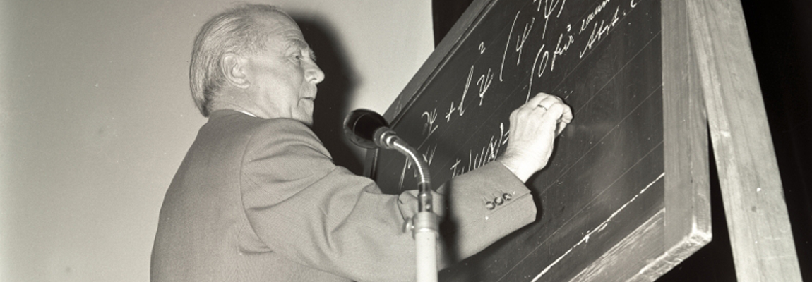 New Mini Lecture: Werner Heisenberg