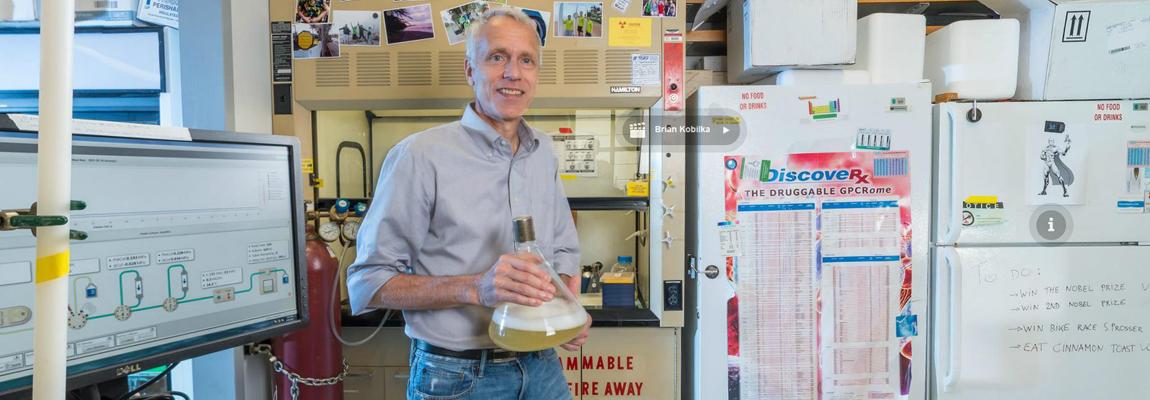 New Nobel Lab 360°: Brian Kobilka