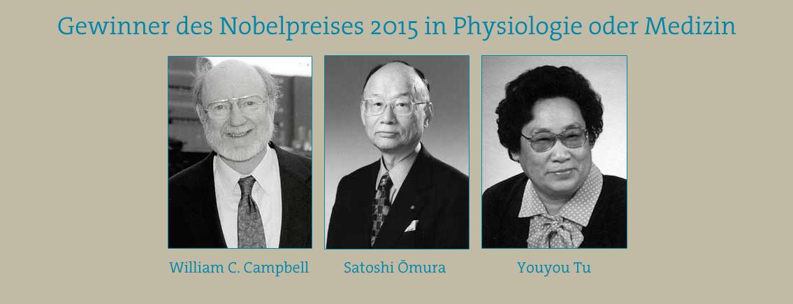 Nobelpreis 2015: Der Kampf gegen tropische Parasiten