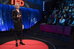 Jennifer Doudna at TEDGlobal London - September 29, 2015, Faraday Lecture Hall, Royal Institution of Great Britain, London, England. Photo: James Duncan Davidson/TED