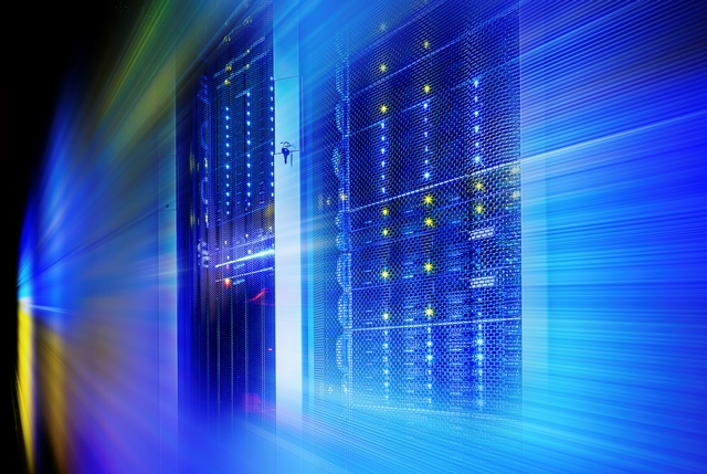 supercomputer disk storage in a series of data center equipment
