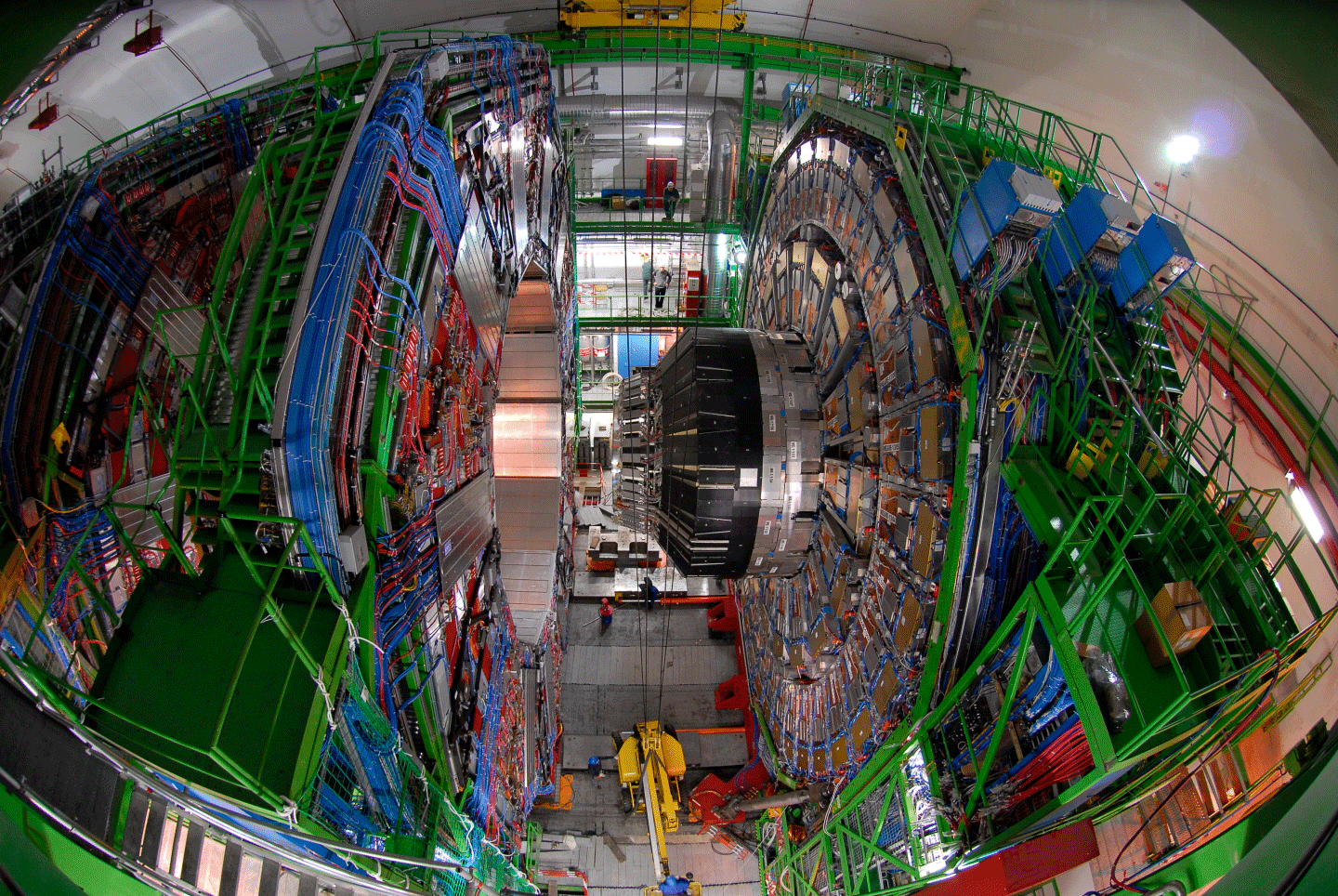 The CMS detector at CERN in all it's glory. Photo: CERN/M. Hoch