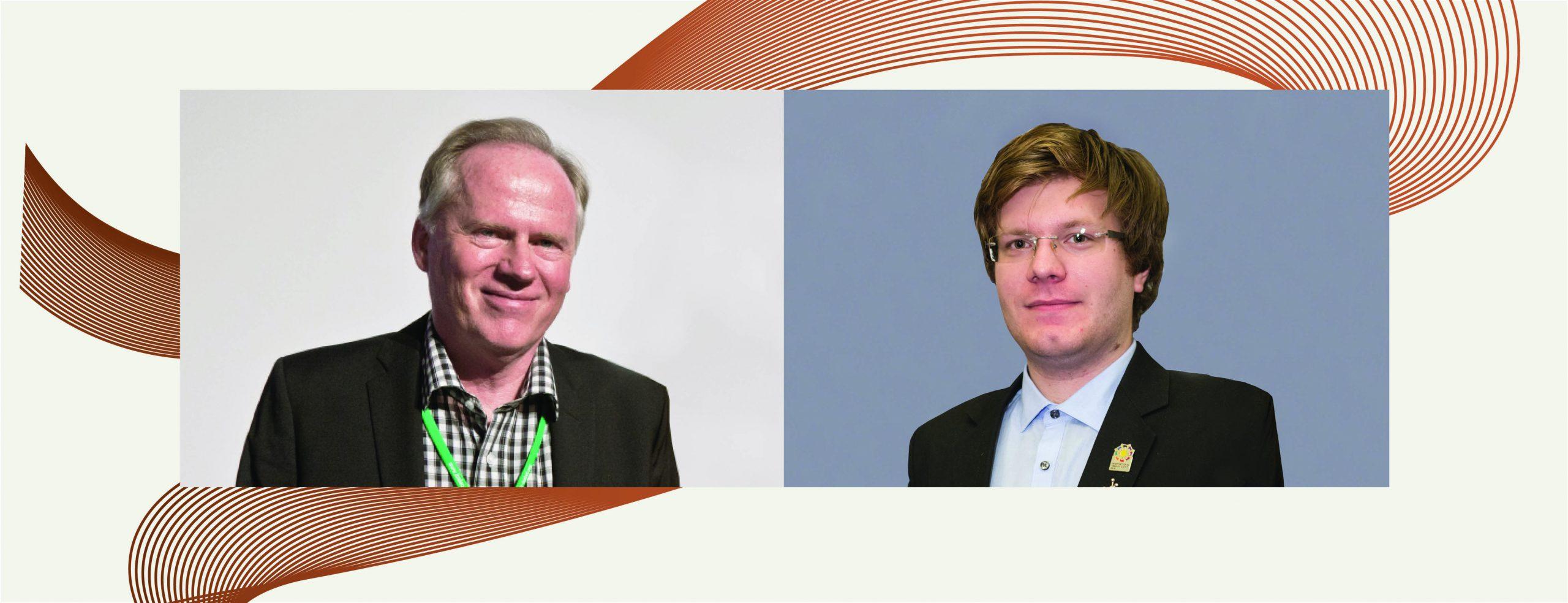 Tamás Vámi interviews Scientific Chairman Lars Bergström