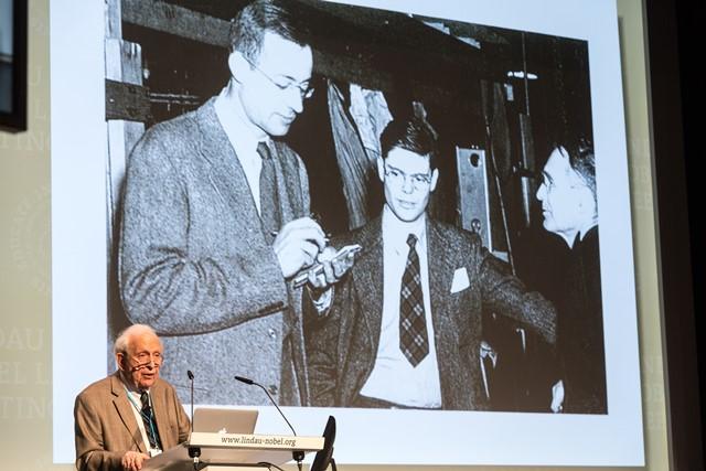 Roy Glauber und seine Zeit in Los Alamos