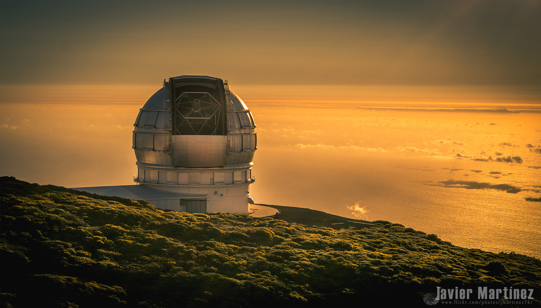 The Gran Telescopio Canarias on La Palma, Spain (credit: Javier Martinez Moran (CC BY-NC 2.0))