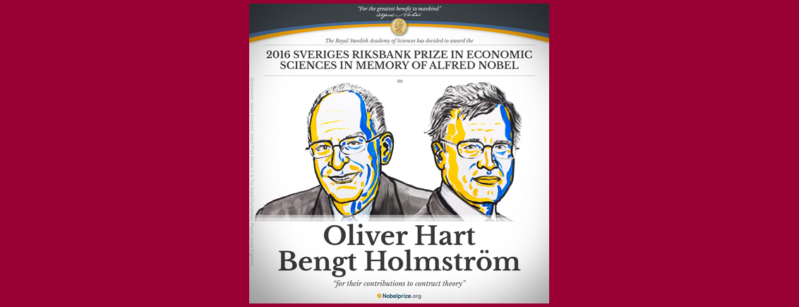 2016 Nobel Prize in Economics – Contracts are everywhere in society