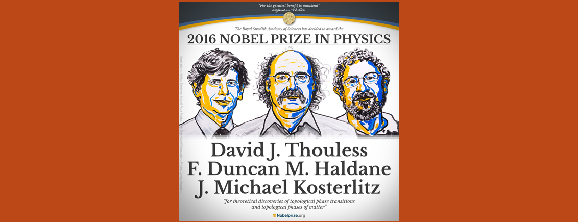 Nobel Prize in Physics 2016: Unravelling the Mysteries of Matter