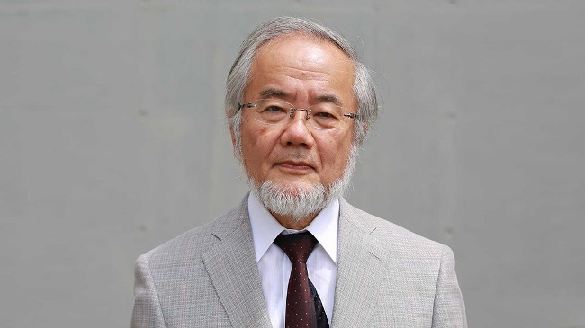 Prof. Yoshori Ohsumi, born in 1945, received the Nobel Prize in Physiology or Medicine for his groundbreaking research on cells' autophagy. Photo: Dr. Paul Janssen Award for Biomedical Research/multivu.com