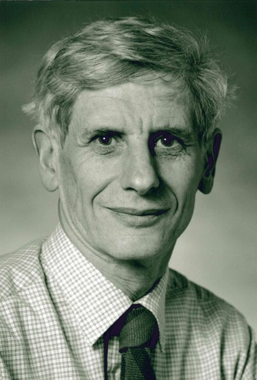 David J. Thouless ist Professor emeritus an der University of Washington in Seattle, USA. Foto: Mary Levin, 1995, University of Washington